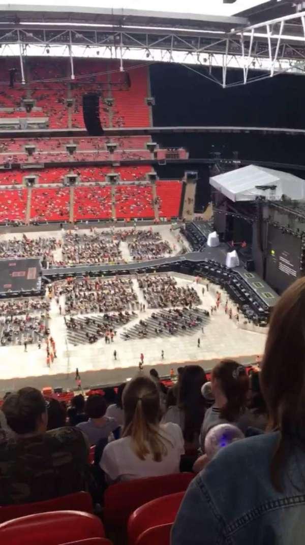 Wembley Stadium, section: 551, row: 33, seat: 355