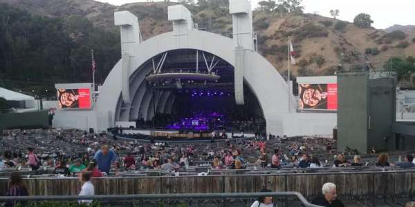 Hollywood Bowl, section: F1, row: 5, seat: 5