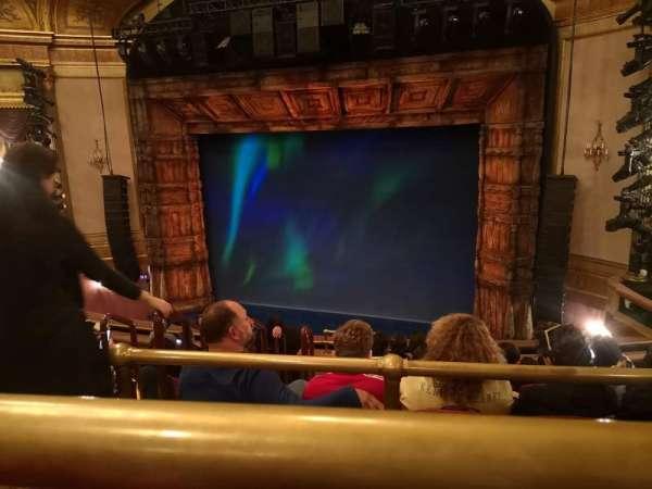 St. James Theatre, section: Mezzanine R, row: J, seat: 8