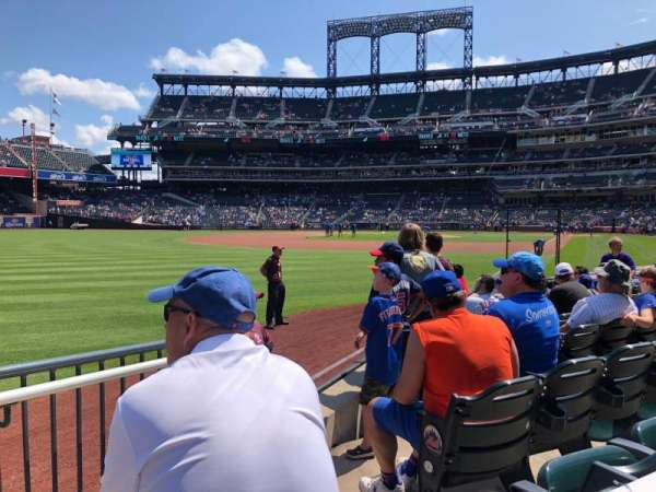 Citi Field, section: 128, row: 3, seat: 17