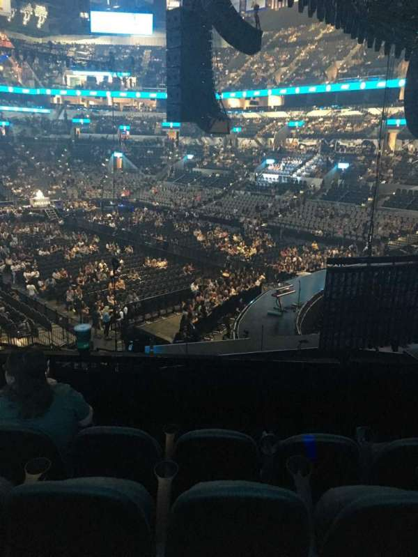 AT&T Center, section: 117, row: 28, seat: 12