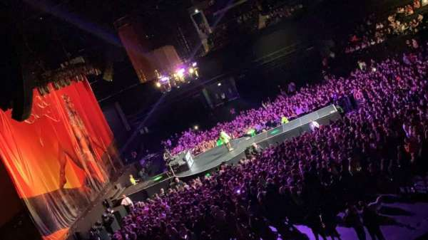 The SSE Hydro, section: 202, row: D