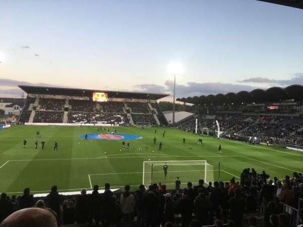 Stade Raymond Kopa, section: Coubertin E, row: U, seat: 124