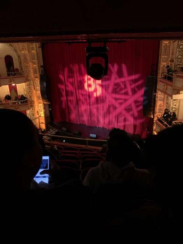 The Apollo Theater, section: RLWMZ, row: H, seat: 15-17