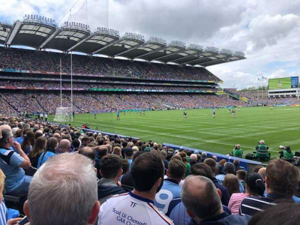 Croke Park, section: z, row: F, seat: 33