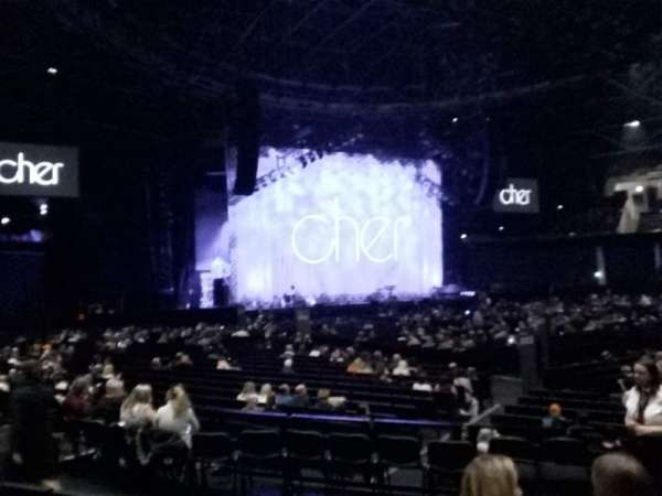 The SSE Hydro, section: 052, row: H, seat: 65
