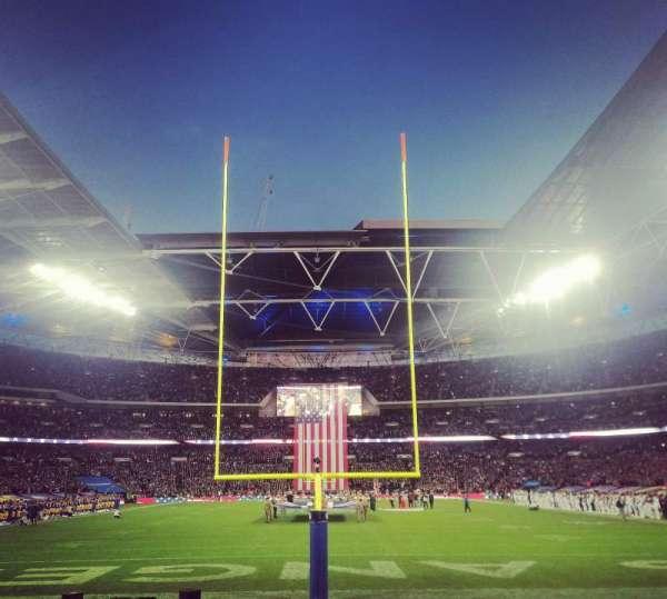 Wembley Stadium, section: 134, row: 8, seat: 1