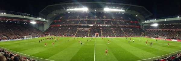 Anfield, section: KK, row: 24, seat: 124