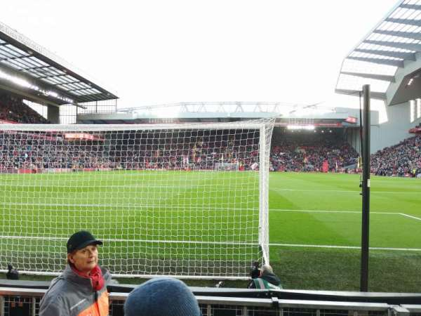 Anfield, section: 124, row: 3, seat: 100