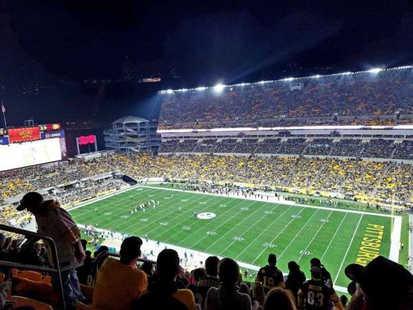 Heinz Field, section: 515, row: Y, seat: 25