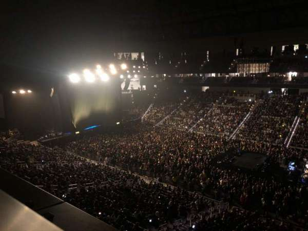 Dickies Arena, section: 222, row: 1, seat: 1