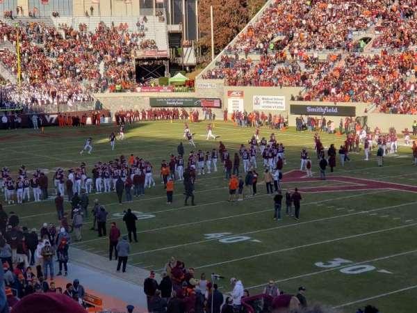 Lane Stadium, section: 18, row: kk, seat: 6