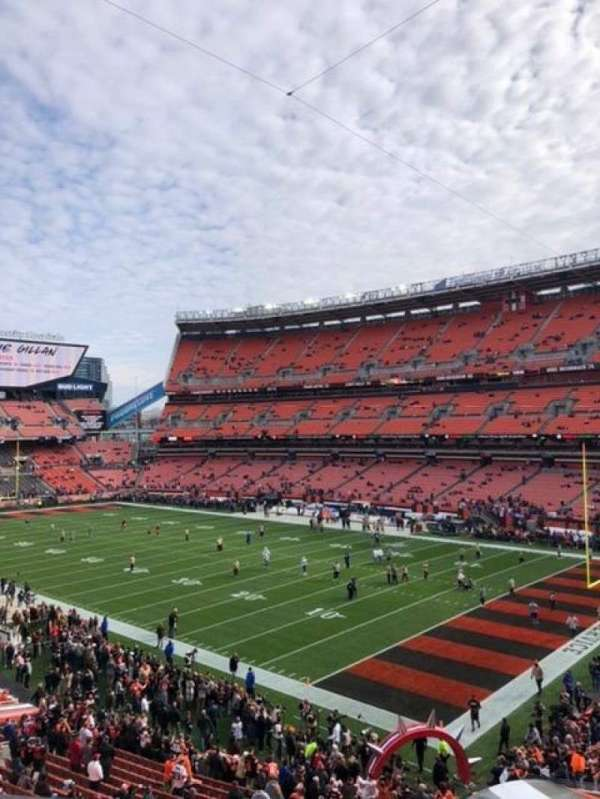 FirstEnergy Stadium, section: 340, row: 1, seat: 11