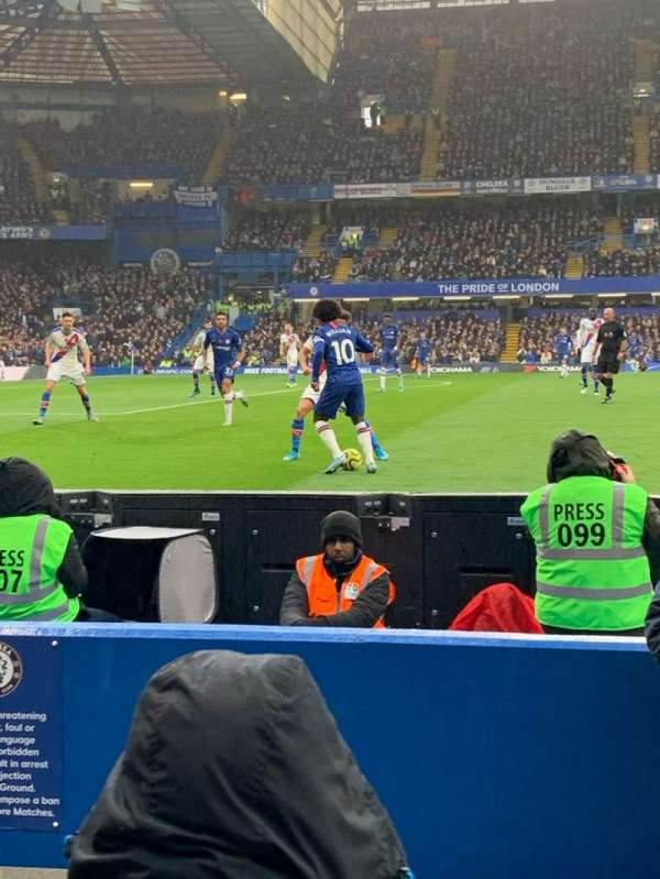 Stamford Bridge, section: West Stand Lower 7, row: 4, seat: 166