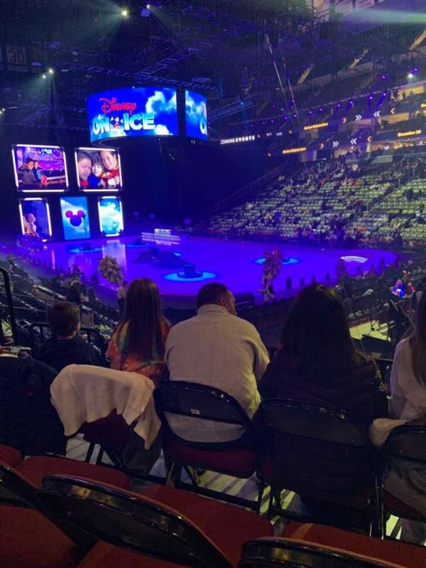 Prudential Center, section: 22, row: 9, seat: 3-5