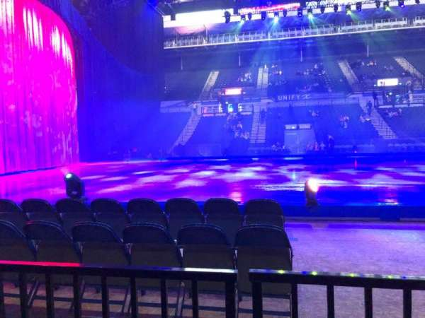 Sheffield Arena, section: 104, row: B, seat: 1
