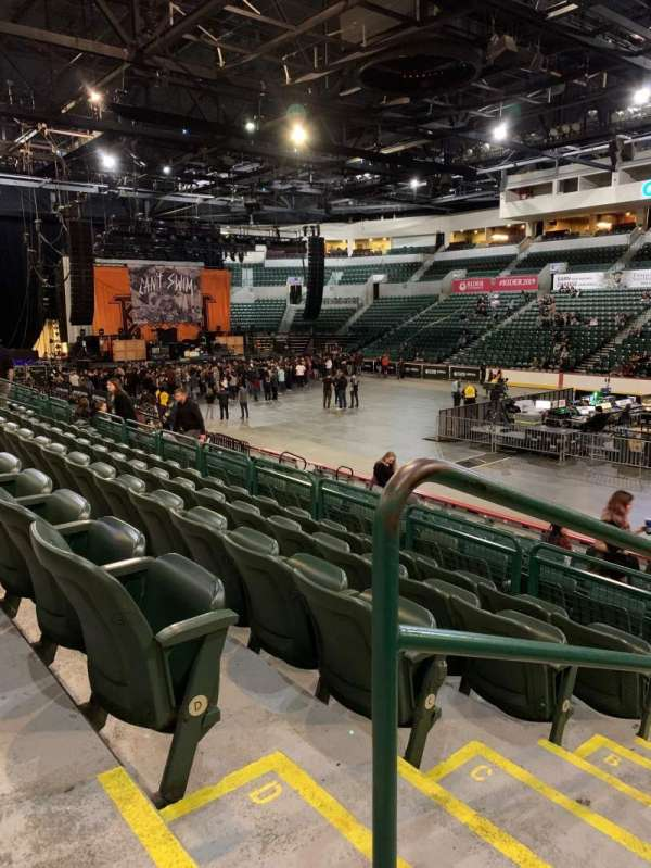 Cure Insurance Arena, section: 113, row: E, seat: 213