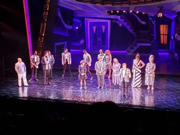 Winter Garden Theatre, section: Mezzanine RC, row: F, seat: 142