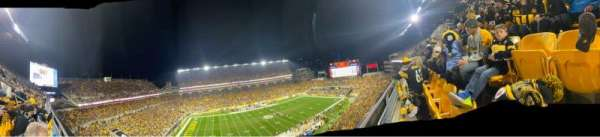 Heinz Field, section: 532, row: A, seat: 14