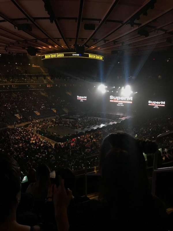 Madison Square Garden, section: 207, row: 5, seat: 19