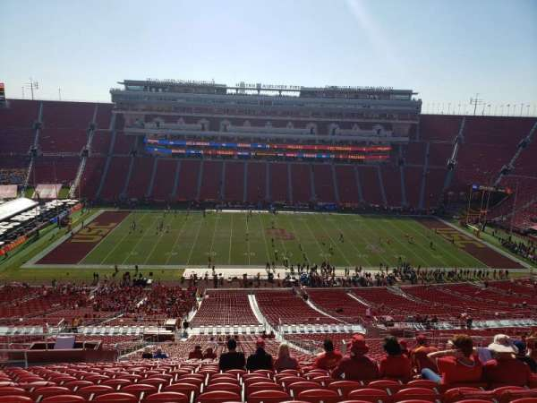 Los Angeles Memorial Coliseum, section: 322, row: 22, seat: 31