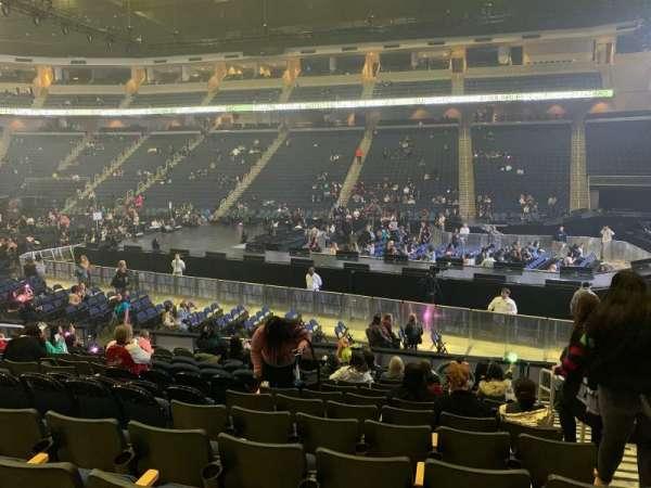 Infinite Energy Arena, section: 106, row: N, seat: 2
