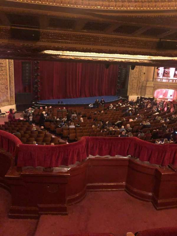 Chicago Theatre, section: Booth T, seat: 1