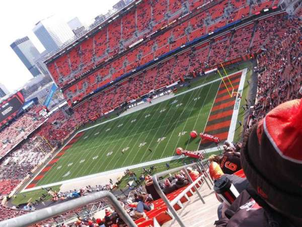 FirstEnergy Stadium, section: 501, row: 31, seat: 4