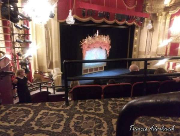 Citizens Bank Opera House, section: A, row: A, seat: 31