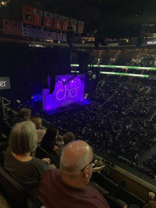 Wells Fargo Center, section: 203, row: 4, seat: 8