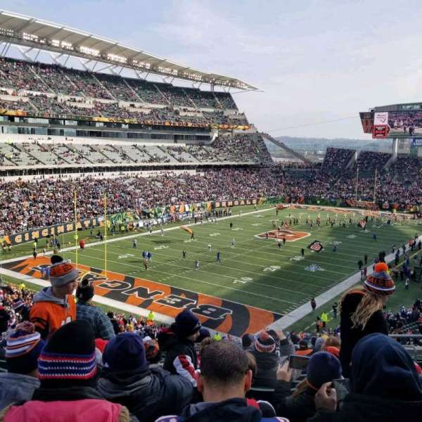 Paul Brown Stadium, section: 220, row: 17, seat: 5
