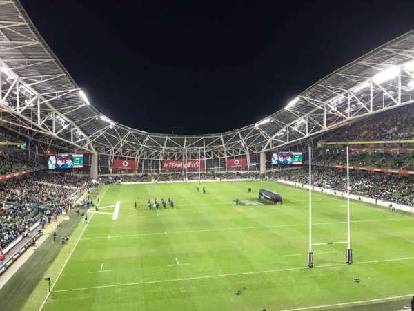 Aviva Stadium, section: 428, row: A, seat: 8