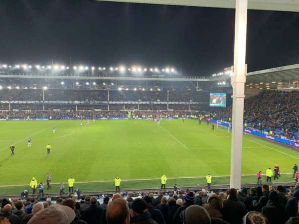 Goodison Park, section: MS3, row: R, seat: 148