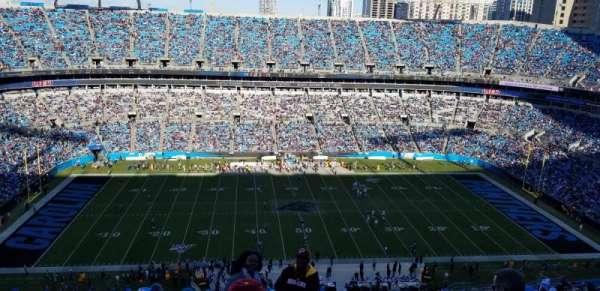 Bank of America Stadium, section: 543, row: 22, seat: 1