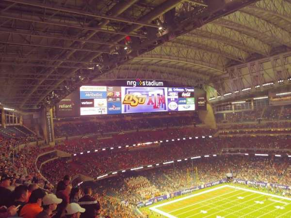 NRG Stadium, section: 631, row: K, seat: 26