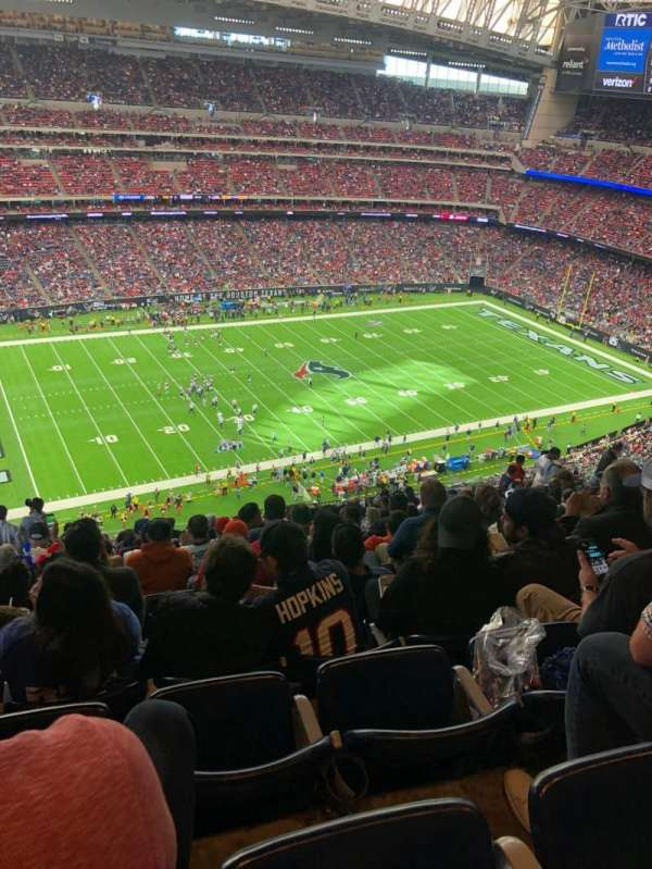 NRG Stadium, section: 638, row: S, seat: 22