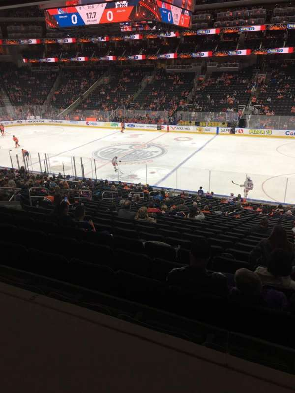 Rogers Place, section: 118, row: DRL, seat: 3,4