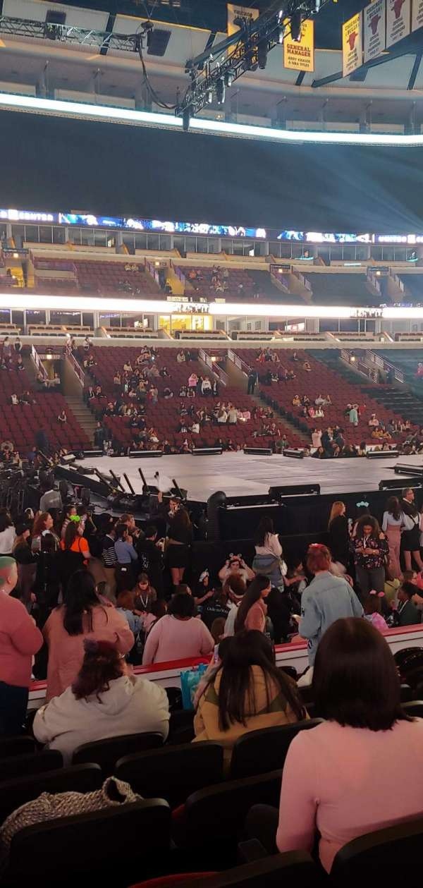 United Center, section: 101, row: 9, seat: 20