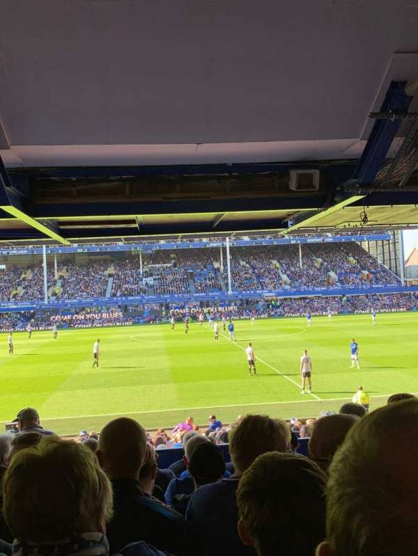 Goodison Park, section: LB3, row: J, seat: 136
