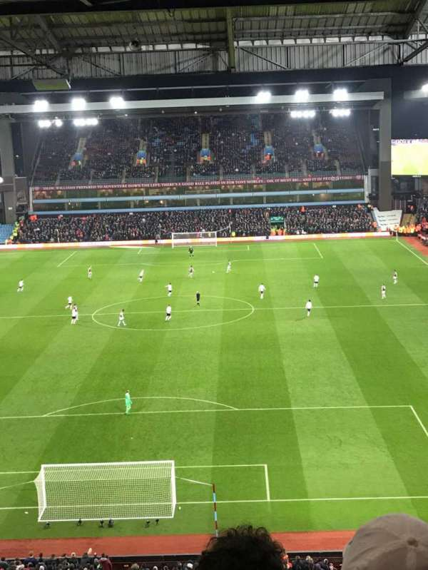 Villa Park, section: K4, row: 18, seat: 106