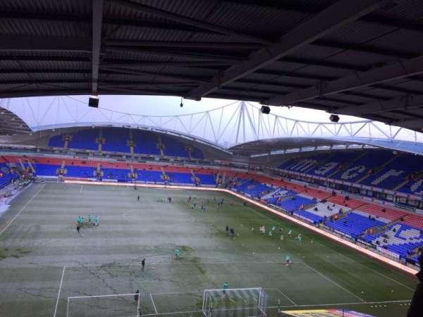 University of Bolton Stadium, section: FU2, row: 13, seat: 113