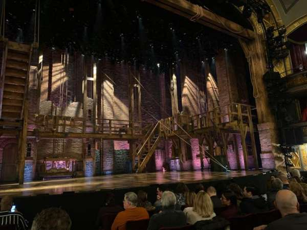 Richard Rodgers Theatre, section: Orchestra L, row: F, seat: 3