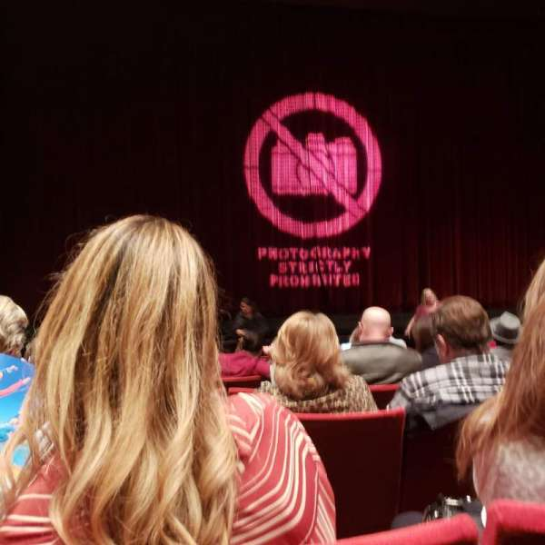 San Diego Civic Theatre, section: ORCHL, row: J, seat: 19
