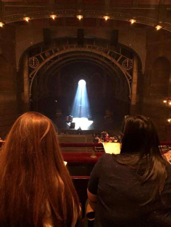 Lyric Theatre, section: Dress circle c, row: C, seat: 112