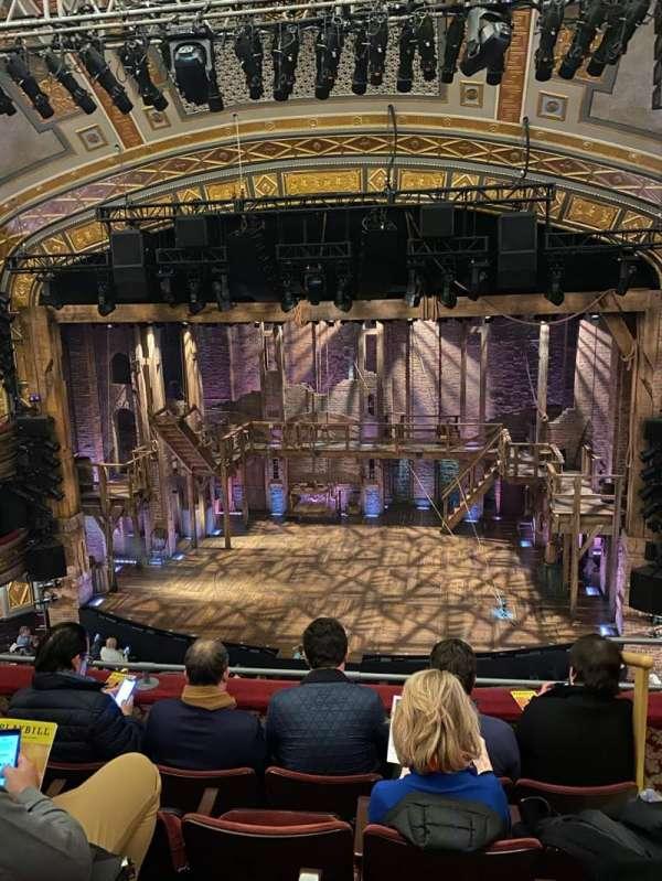Richard Rodgers Theatre, section: Front Mezzanine C, row: E, seat: 102