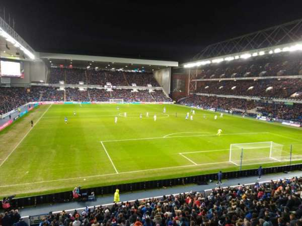 Ibrox Stadium, section: BR5, row: A, seat: 137