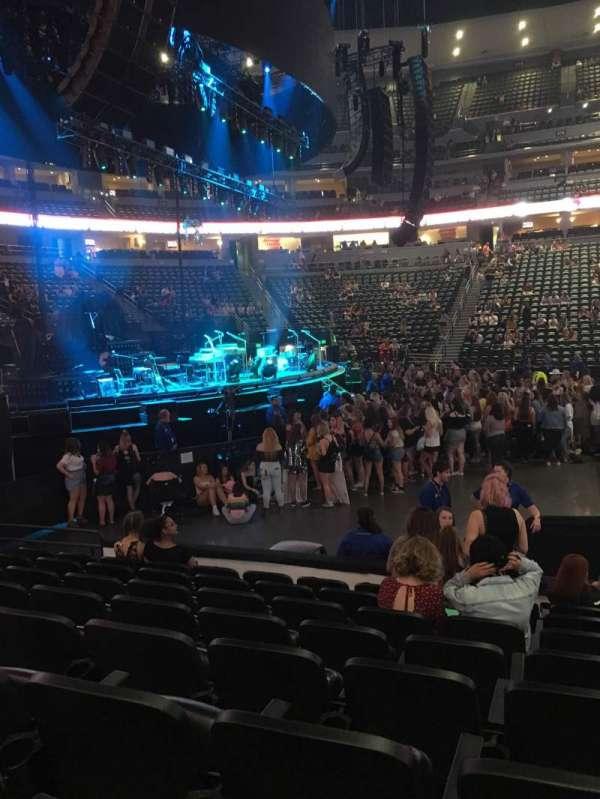 Pepsi Center , section: 128, row: 8, seat: 8