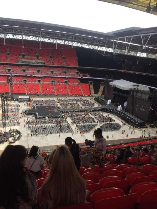 Wembley Stadium, section: 501, row: 25, seat: 23