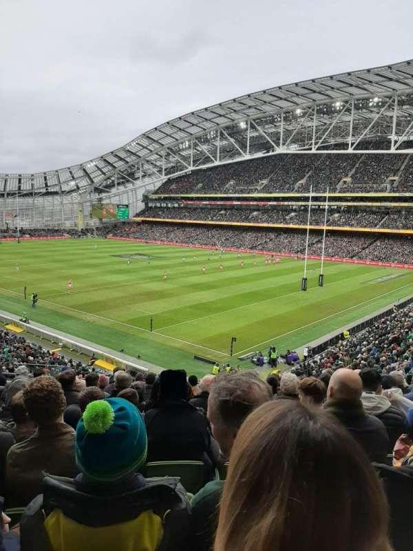 Aviva Stadium, section: 321, row: L, seat: 7