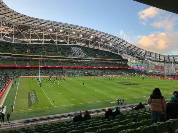Aviva Stadium, section: 309, row: N, seat: 22
